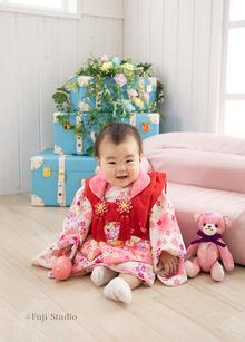 ベビーフォト*3ヶ月〜1歳バースデー*