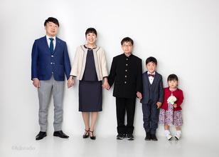 🌸入学🌸家族写真